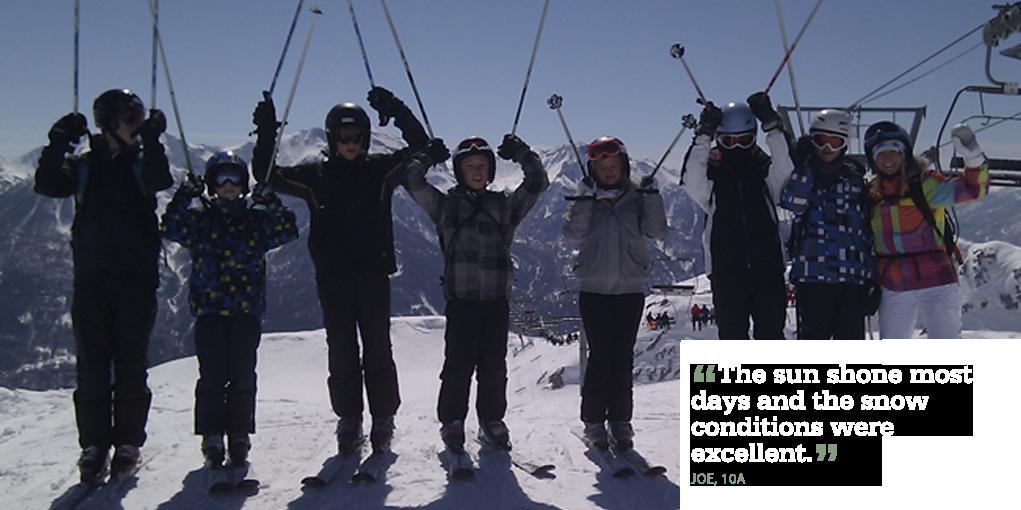 Ski Trip 12.4.13