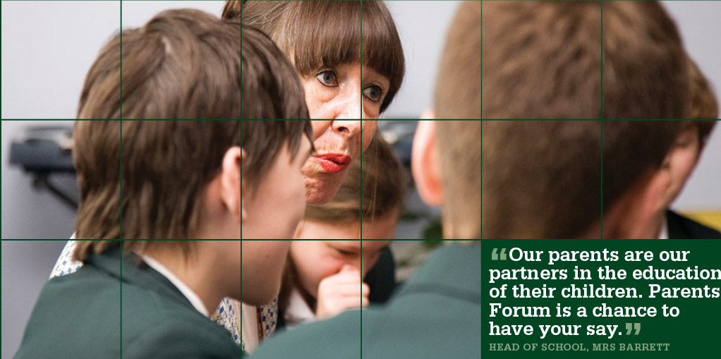 Parents Forum Monday 10 June