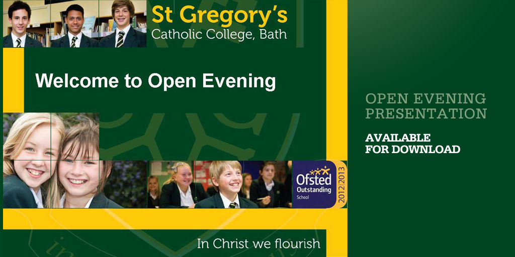 Open Evening PresentationSept 2013