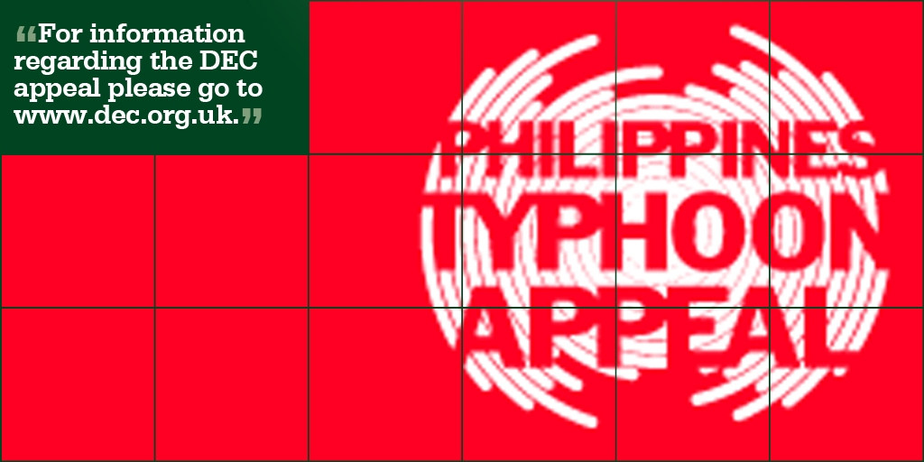November 18 Philippines Disaster Appeal Donate Now