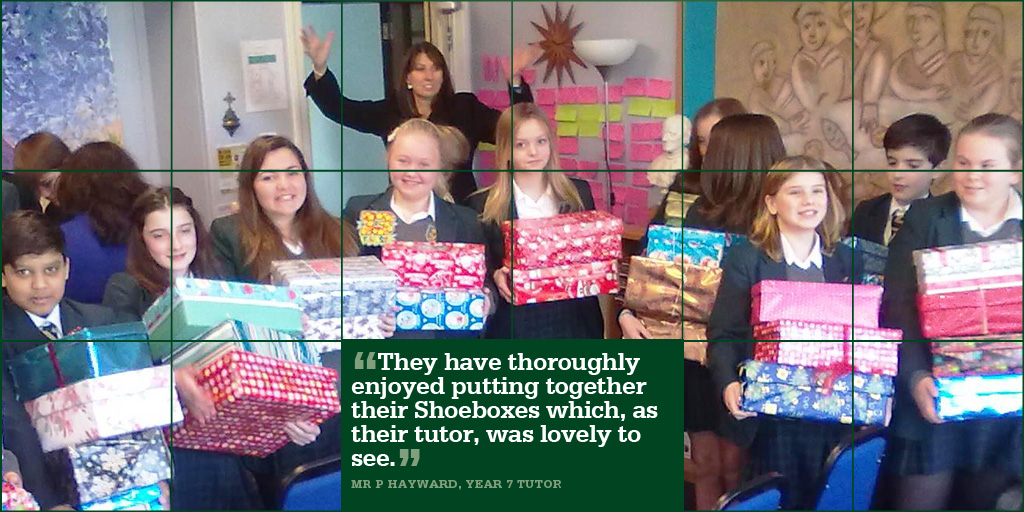 November 25 Shoebox Appeal 2013