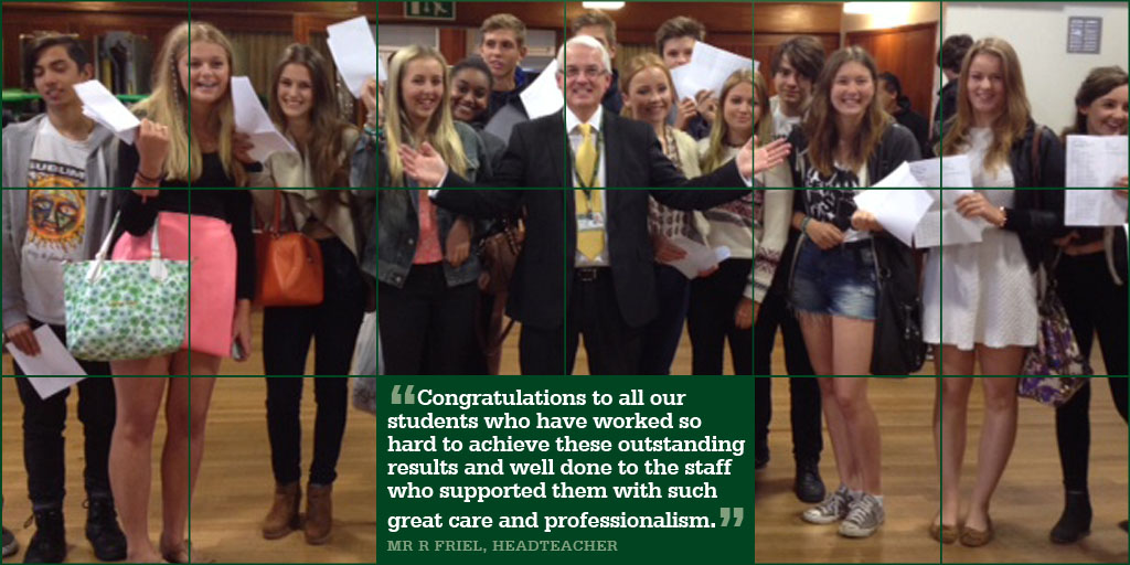 Outstanding GCSE Results 2014