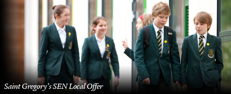 Saint Gregory's SEN Local Offer 1