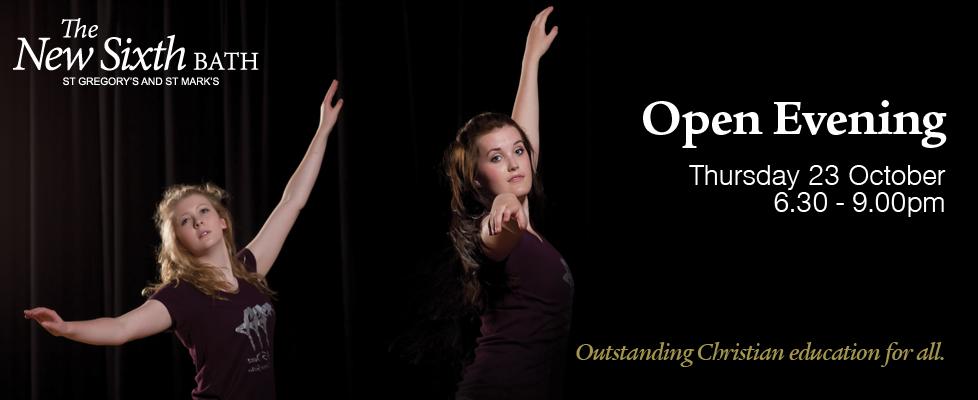 6 Oct - New Sixth Open Evening