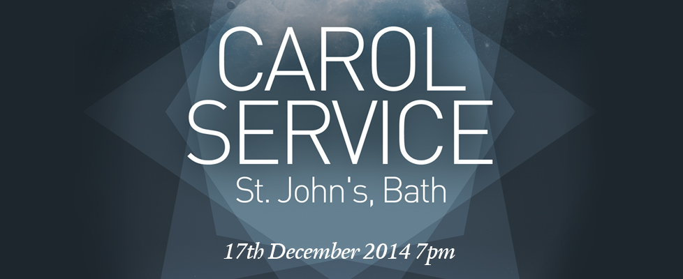 Carol Service St John's Bath 17th December 2014 7pm