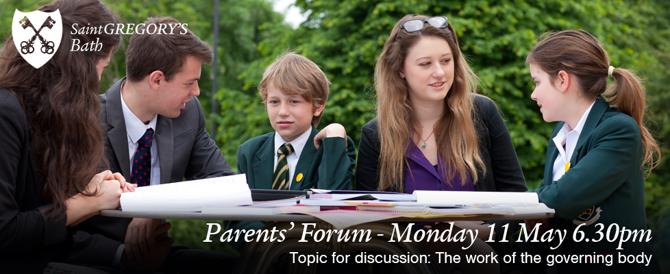 Parents Forum Monday 7 May 6.30pm