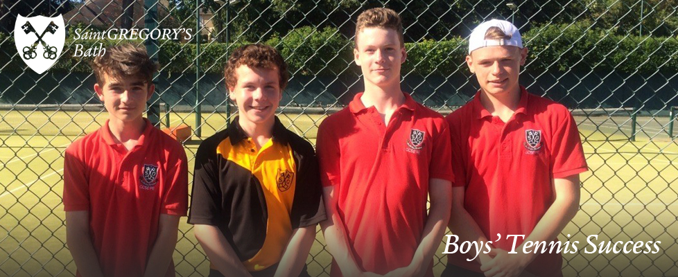Boys' Tennis Success