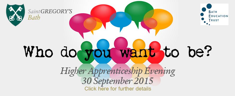 Higher Apprenticeship Evening3