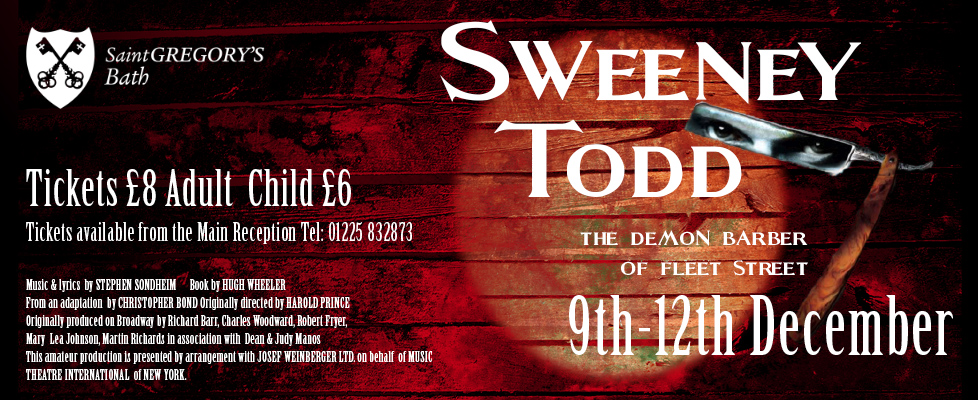 Sweeney Todd website slider