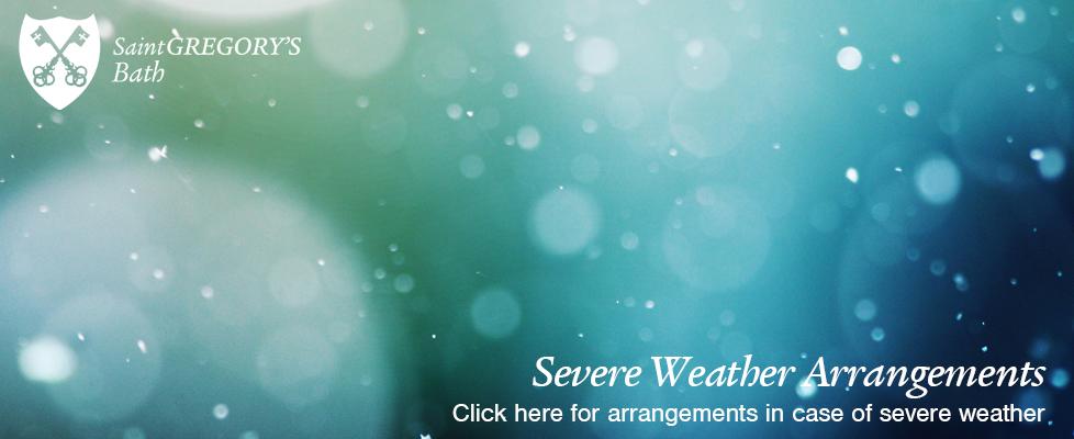 Severe Weather Arrangements