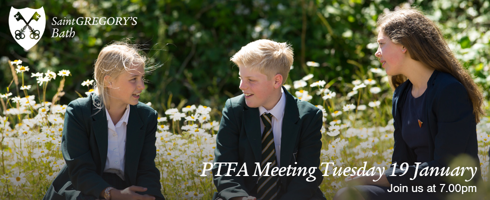 PTFA Meeting Tuesday 19 January 7.00pm