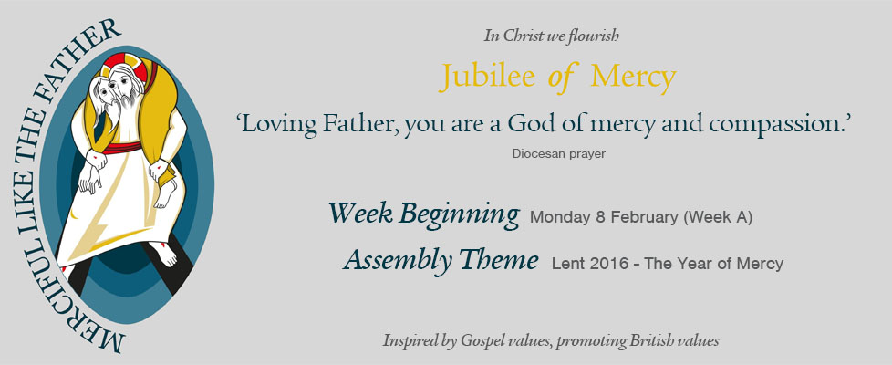 Week Beginning Monday 8 February