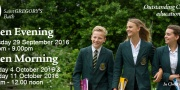 Open Events at Saint Gregory's this Autumn