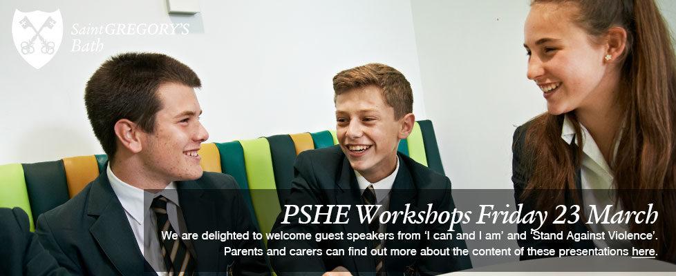 PSHE-Workshops