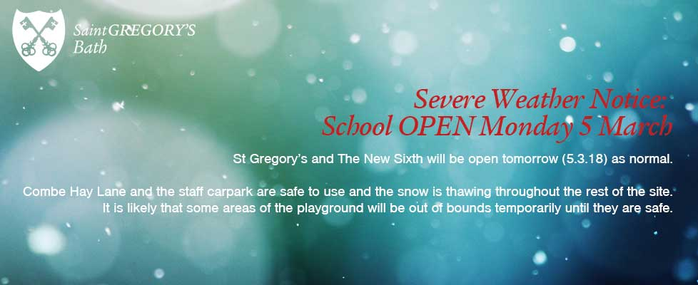 STG-Severe-Weather-Notice-Open-Monday-5-March