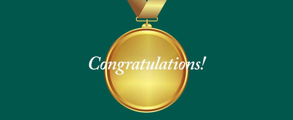 Gold-Congratulations
