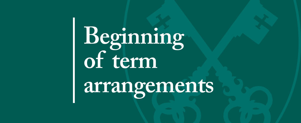 Beginning-of-term