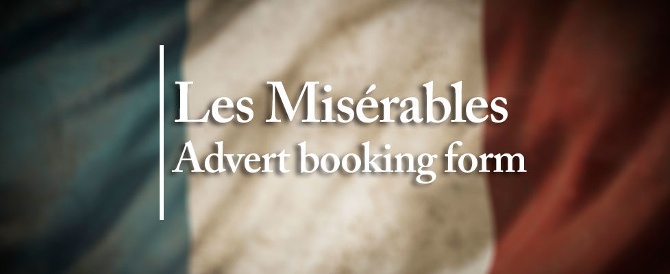 Les-Mis-advert-booking-form