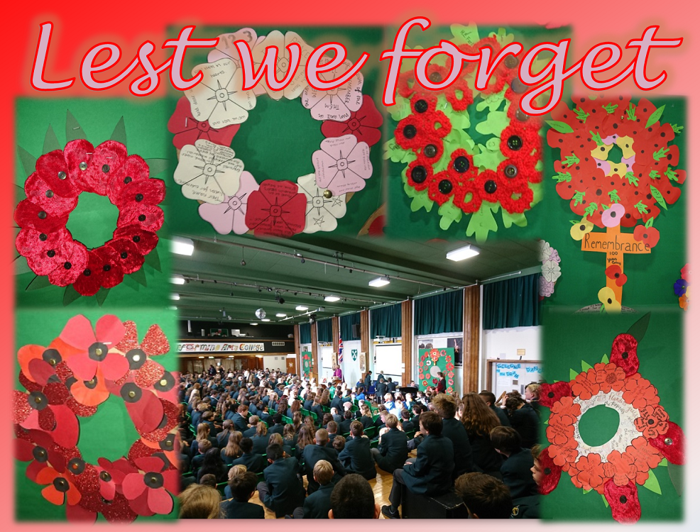 remembrance pics collage