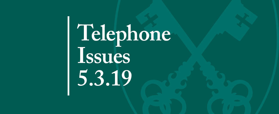 Telephone-Issues-5.3.19