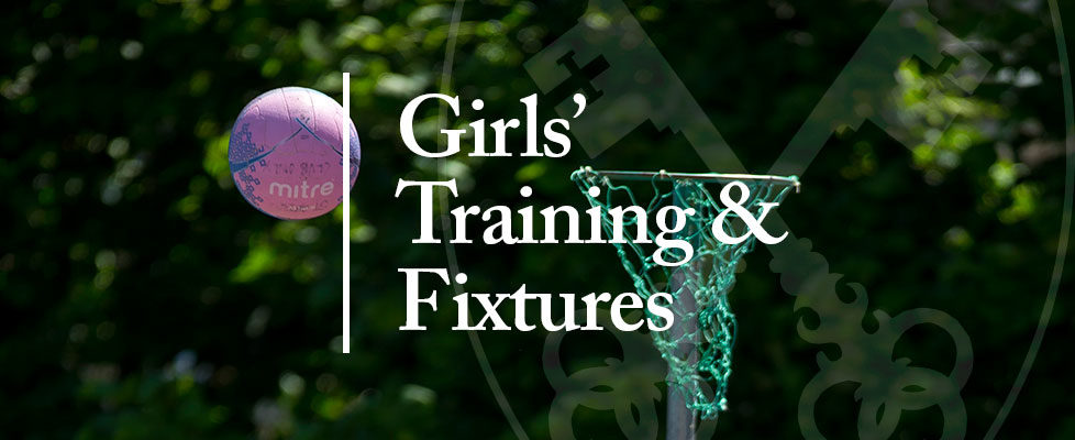 Girls-training-and-fixtures