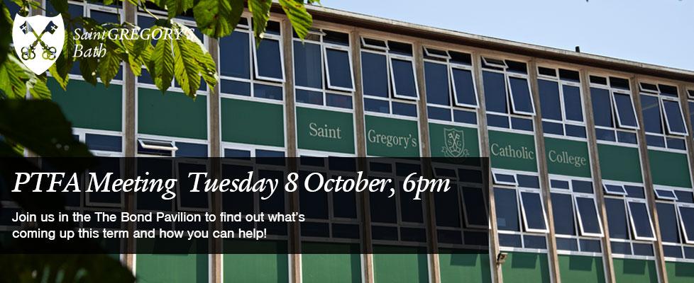PTFA-Tuesday-8-October