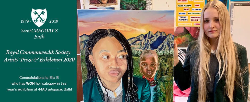 Royal Commonwealth Society Art Competition Winner