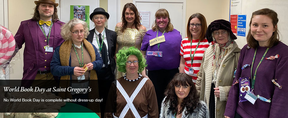 World Book Day at Saint Gregory's