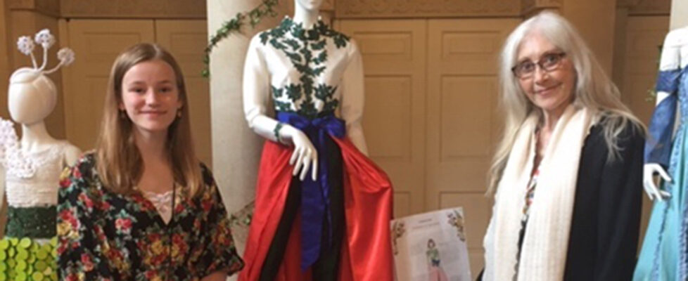Winning design at Fashion & Fairytale Exhibition