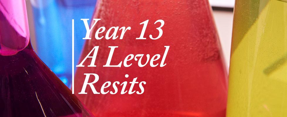Y13-resits